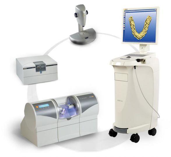 Изготовление с использованием компьютерной технологии коронок